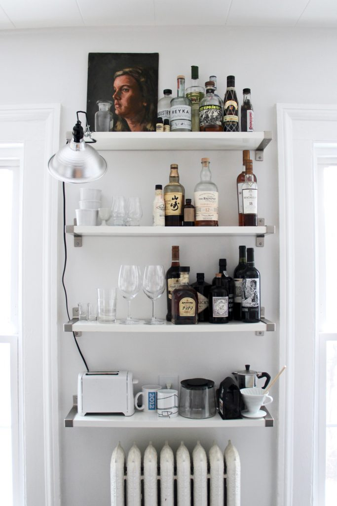 Bar shelves